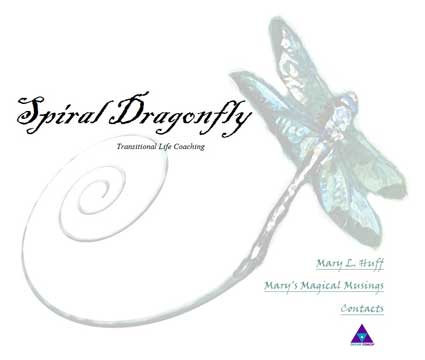 To see an example of my work, click the dragonfly.